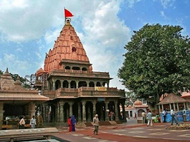 महाकालेश्वर मंदिर में 8 जून से दर्शन शुरू किए गए हैं।