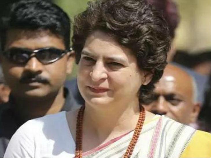 कांग्रेस की महासचिव प्रियंका गांधी विधानसभा चुनाव के बाद से ही यूपी में काफी सक्रिय हैं।