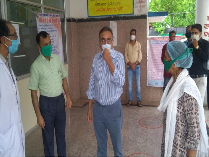 रायसेन के जिला अस्पताल पहुंचे प्रदेश के स्वास्थ्य विभाग के प्रमुख सचिव फैज अहमद किदवई। उन्होंने कोरोना की स्थिति का जायजा भी लिया।