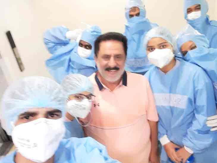 भाजपा विधायक सुधा को ने कोरोना को दी मात, संपर्क से बनी चेन से 10 से ज्यादा लोग हो चुके संक्रमित|हरियाणा,Haryana - Dainik Bhaskar