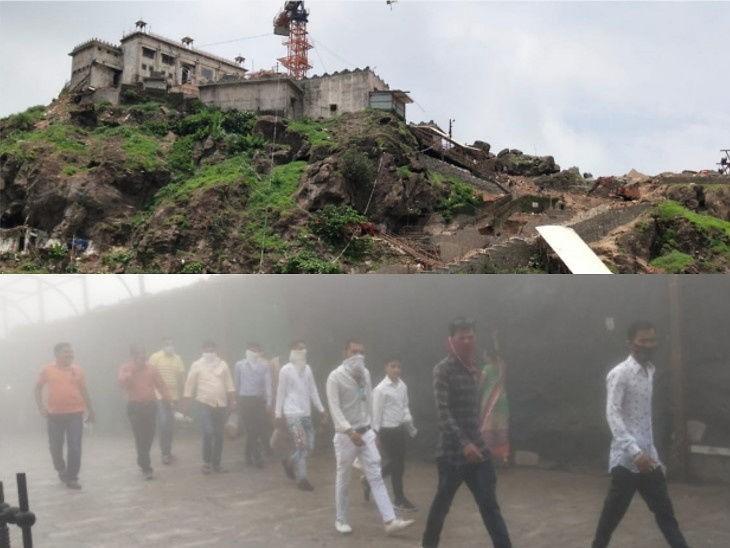 देश के 64 शक्तिपीठों में से एक पावागढ़ मंदिर वडोदरा के पास पावागढ़ पर्वत पर स्थित है। - Dainik Bhaskar