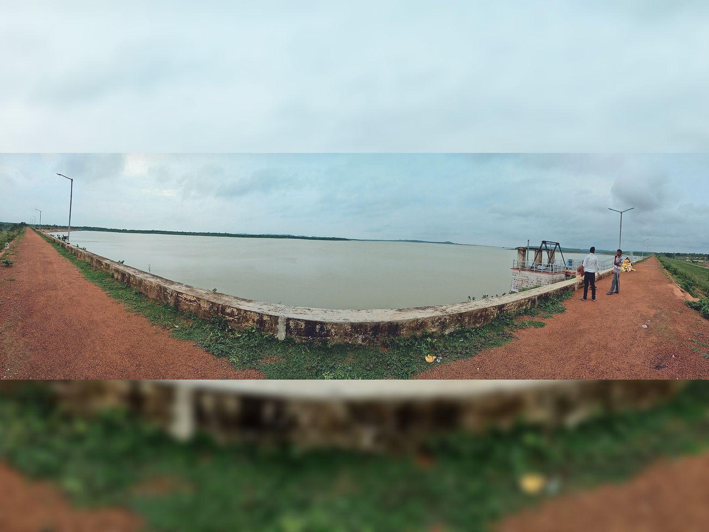 अच्छी बारिश के कारण कोडार जलाशय अब तक 50.22 फीसदी भर चुका है। फोटो : दिनेश पाटकर - Dainik Bhaskar