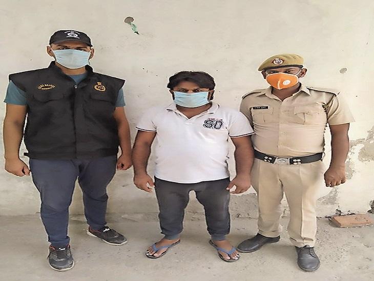 फरीदाबाद में हत्या व ग्रेटर नोएडा में 80 लाख रुपए की लूट में मोस्ट वांटेड बदमाश गिरफ्तार फरीदाबाद,Faridabad - Dainik Bhaskar