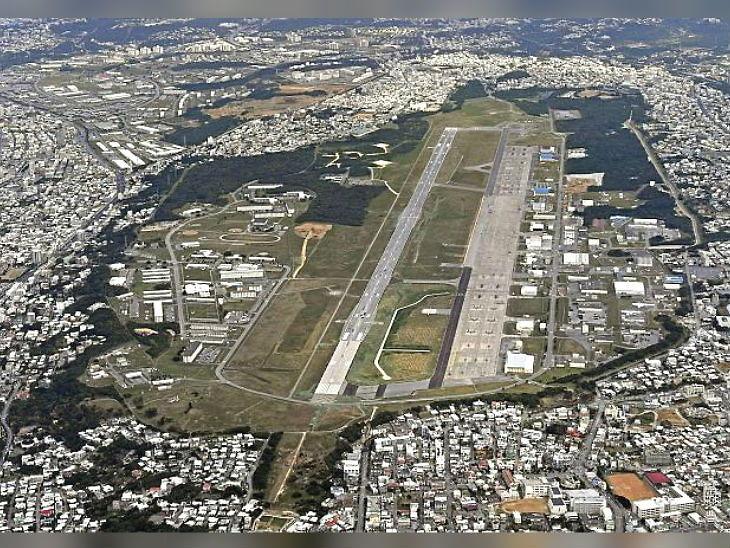 यह फोटो जापान के ओकिनावा आईलैंड पर स्थित अमेरिकी सैन्य बेस की है। -फाइल फोटो