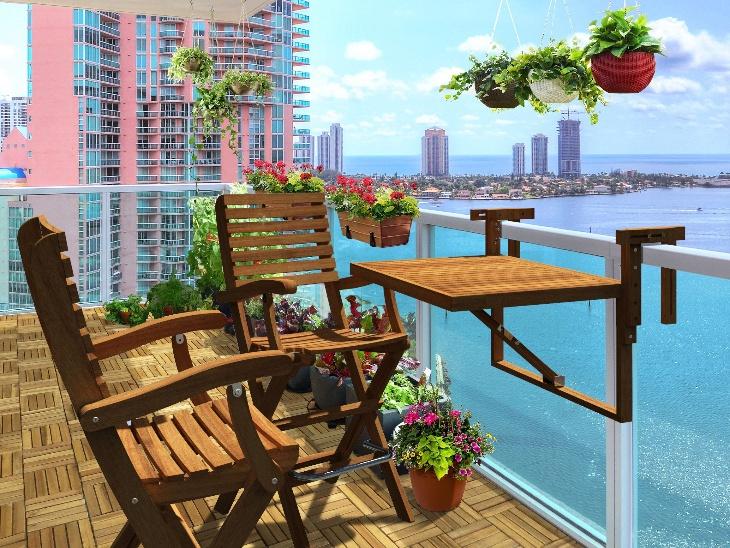 Chill out on balcony: The importance of increased balcony in lockdown, these maintenance, 5 ways to set up a weather proof balcony | लॉकडाउन के दौरान घरों में बढ़ी बालकनी की अहमियत, लाे मेंटेनेंस, वेदर प्रूफ बालकनी को सेट करने के ये 5 तरीके हैं आसान