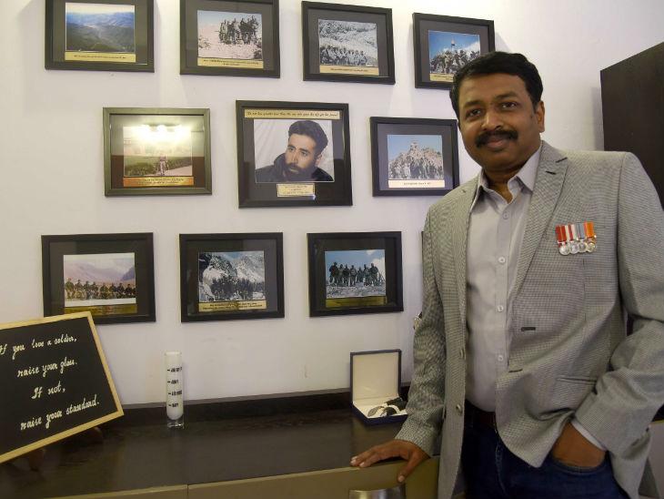 12 दिसंबर, 1998 को इंडियन मिलिट्री एकेडमी से ट्रेनिंग के बाद नागप्पा 13 जम्मू एंड कश्मीर राइफल्स यूनिट में भर्ती हुए थे।