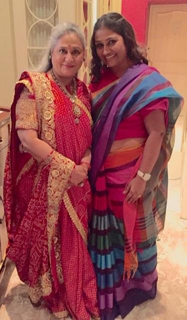 जया बच्चन के साथ डॉली जैन।