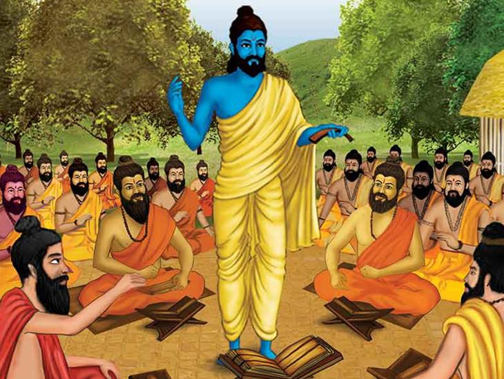 एक चोर ने संत से कहा कि आज से आप मेरे गुरु, लेकिन मैं चोरी करना नहीं छोड़ सकता, गुरु ने कहा कि अब से तुम सभी महिलाओं को माता और बहन मानना धर्म,Dharm - Dainik Bhaskar