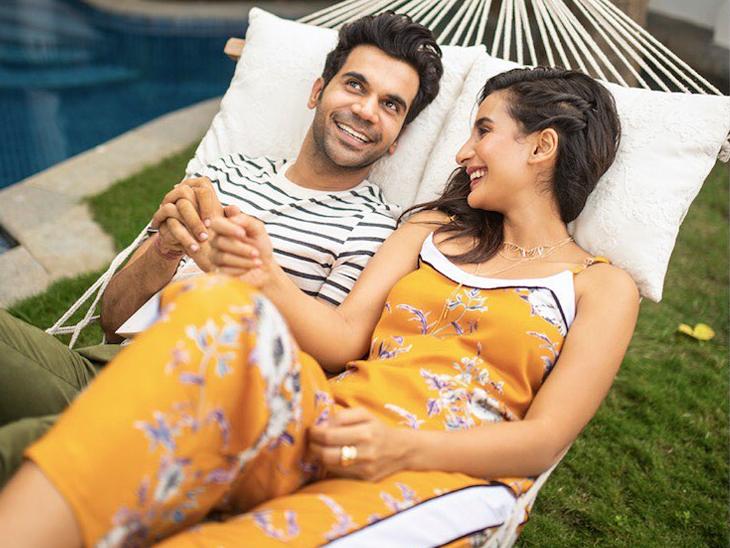 राजकुमार राव की गर्लफ्रेंड पत्रलेखा बोलीं- राज को नैरेशन देने के लिए कई लोग मुझे फोन करते हैं, मैं कह देती हूं- उनसे मेरा ब्रेकअप हो गया है|बॉलीवुड,Bollywood - Dainik Bhaskar