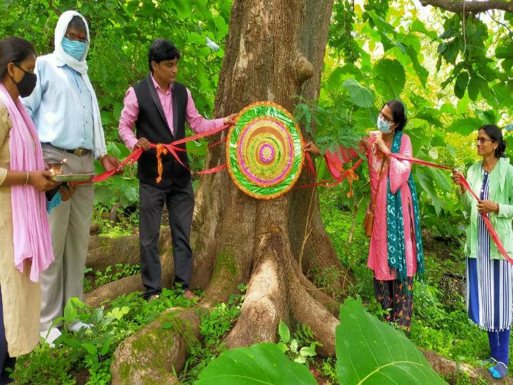 Raksha Bandhan 2020; Madhya Pradesh School Students and Teachers ...