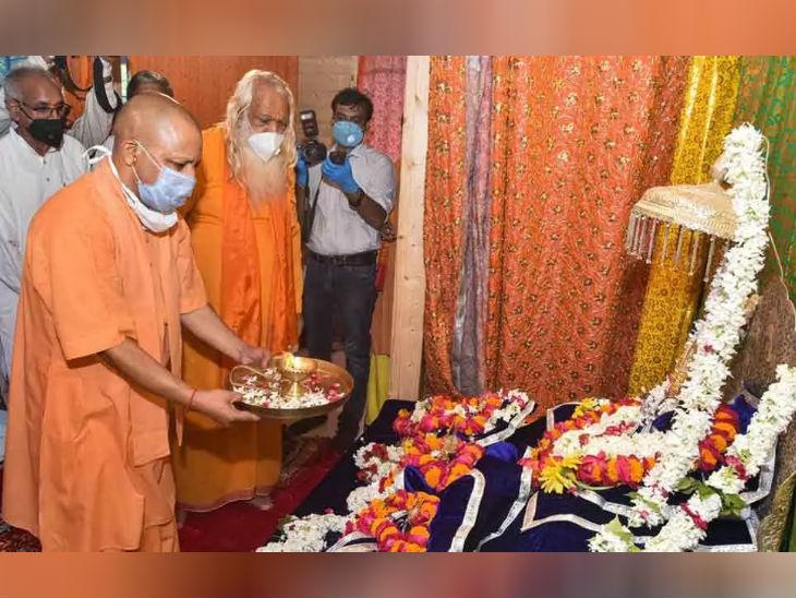 हाल ही में सीएम योगी आदित्यनाथ ने अयोध्या का दौरा किया था और वहां की तैयारियों का जायजा लिया था।