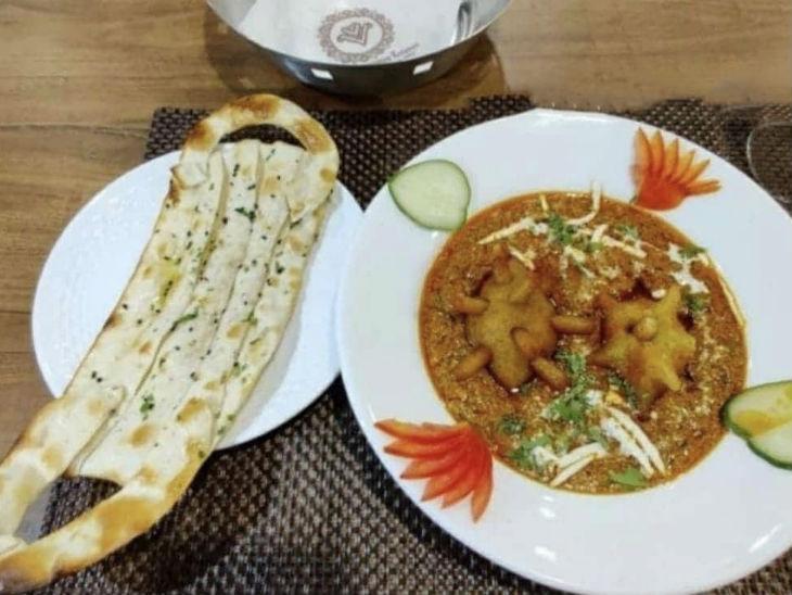 Special dish name covid curry and mask naan in Corona goes viral on internet, restaurant's is idea getting hit on social media | कोरोना में स्पेशल डिश नेम कोविड करी व मास्क नान, सोशल मीडिया पर हिट हो रहा रेस्टोरेंट का आइडिया