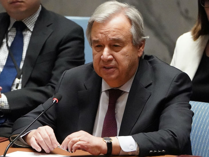 संयुक्त राष्ट्र के सेक्रेटरी जनरल एंतोनियो गुतेरस ने मंगलवार को 'सेव अवर फ्यूचर' कैंपेन लॉन्च किया।