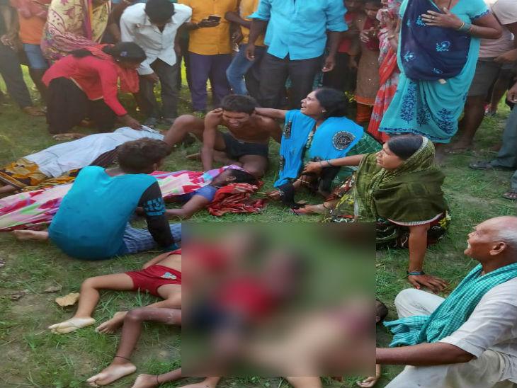 देवरिया में सरयू नदी में नाव डूबी; 3 सगे भाइयों समेत 5 लोगों की मौत, 10 अब भी लापता|उत्तरप्रदेश,Uttar Pradesh - Dainik Bhaskar