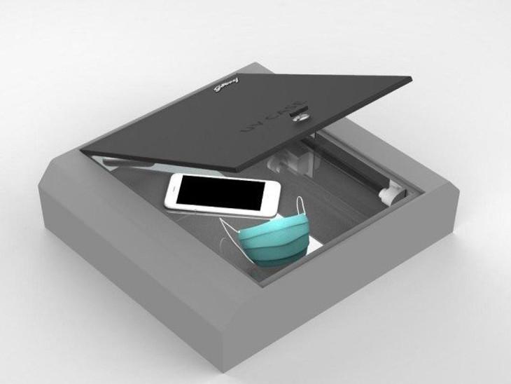 गोदरेज के UV Case से कर सकेंगे मिनटों में सैनिटाइज