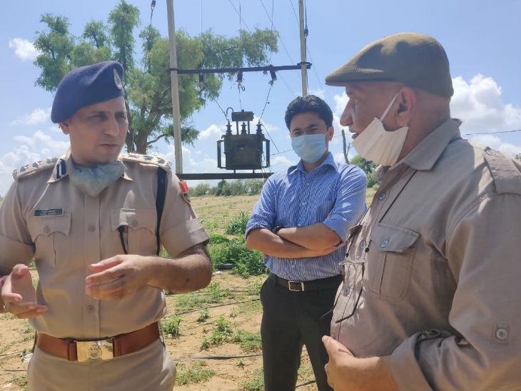 पाक विस्थापित संघ के संस्थापक हिंदू सिंह सोढ़ा घटनास्थल पर पहुंचे। उन्हाेंने जिला पुलिस अधीक्षक (जोधपुर ग्रामीण) राहुल बारहट और जिला कलेक्टर इंद्रजीत सिंह से घटना के बारे में जानकारी ली।