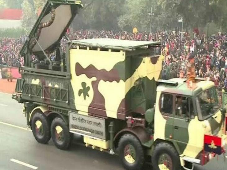 स्वाति राडार मोर्टार, रॉकेट और शेल्स की सही लोकेशन पता लगा लेता है। -प्रतीकात्मक फोटो - Dainik Bhaskar