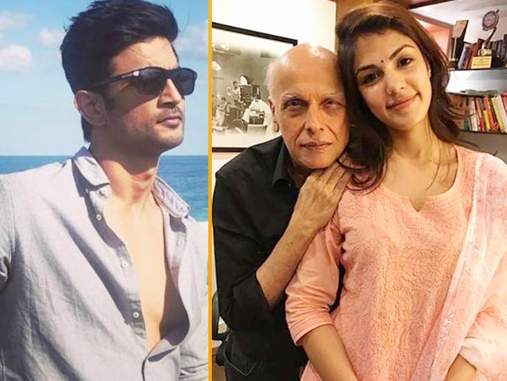 सुशांत से झगड़े के बाद रिया ने महेश भट्ट को 16 बार फोन किया था, इस बीच अभिनेता से उनकी एक बार भी बात नहीं हुई|बॉलीवुड,Bollywood - Dainik Bhaskar