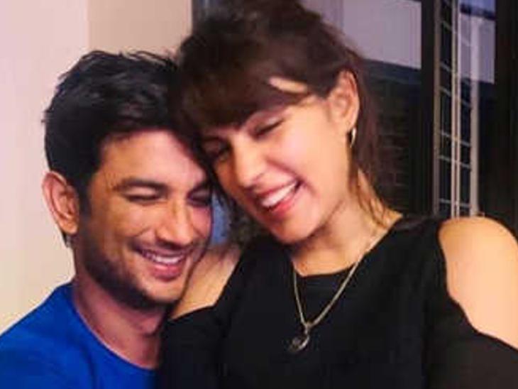 अब खुद को सुशांत की गर्लफ्रेंड बता रहीं रिया चक्रवर्ती, उनकी मौत से दो महीने पहले अफेयर की बात से कर रही थीं इनकार|बॉलीवुड,Bollywood - Dainik Bhaskar