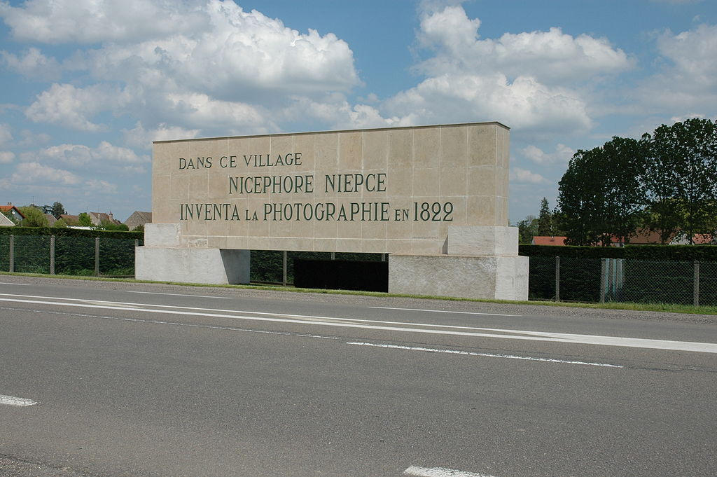 A monument in memory of Nicefor in the town of Saint-Loup-de-Varennes.