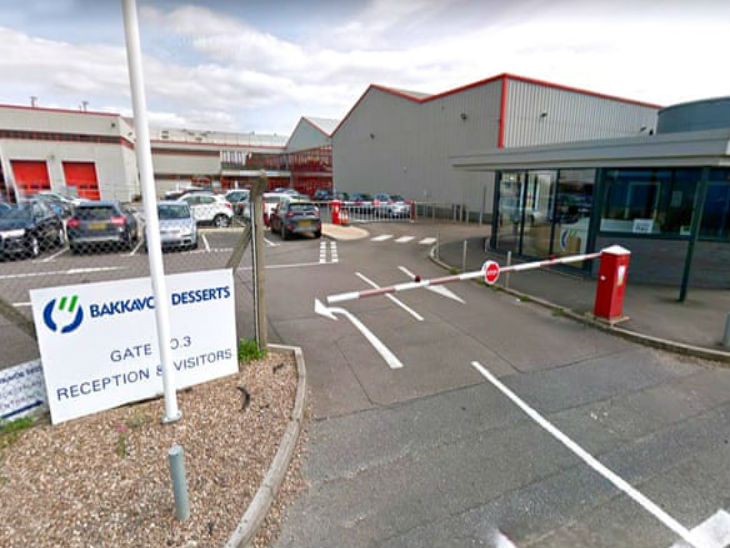 More than 70 workers were found infected in the same factory in England, UK. All those working here will now be questioned.