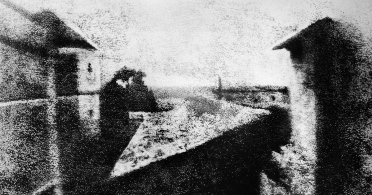 This was the first photograph taken in 1826 called