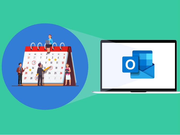 आउटलुक और गूगल कैलेंडर के साथ ऑटोमैटिक सिंक हो जाते हैं, जब आउटलुक को मोबाइल डिवाइस (आईओएस/एंड्ऱॉयड) पर यूज किया जाता है - Dainik Bhaskar
