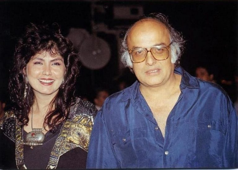Mahesh Bhatt with Lorien Bright.