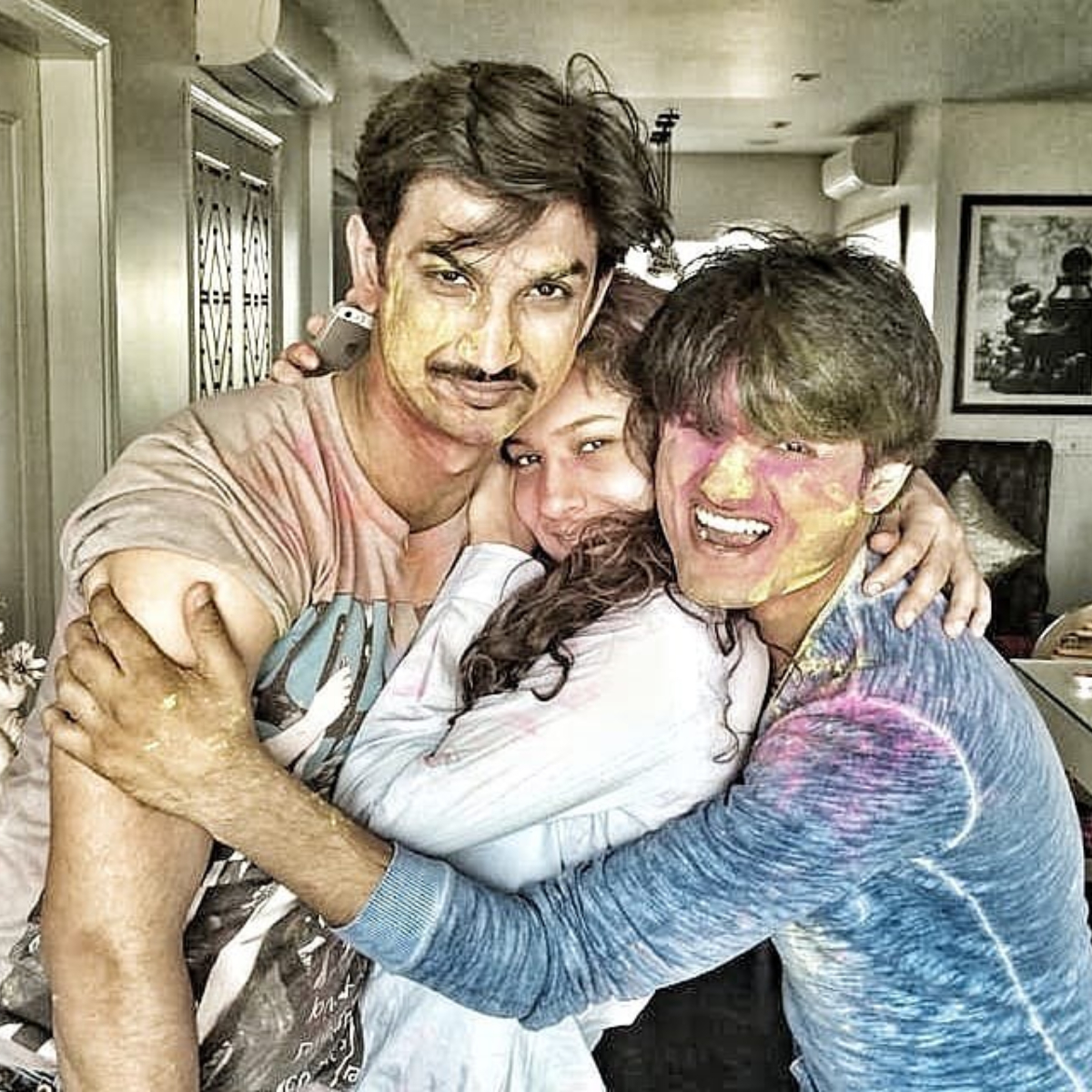 Sushant-Ankita was in a live in relationship till 2016 and this photo was done during that time.
