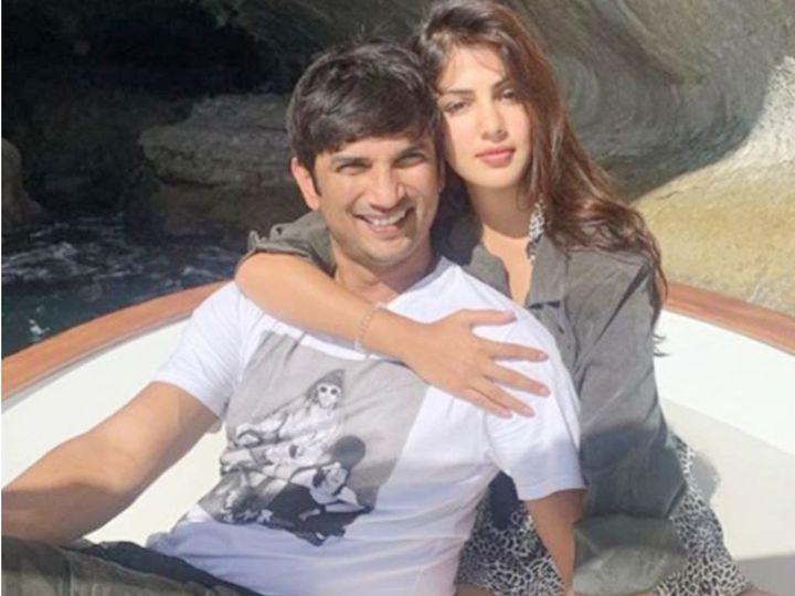 अभिनेत्री रिया और सुशांत दोनों अप्रैल 2019 से एक दूसरे के साथ रहते थे। - Dainik Bhaskar
