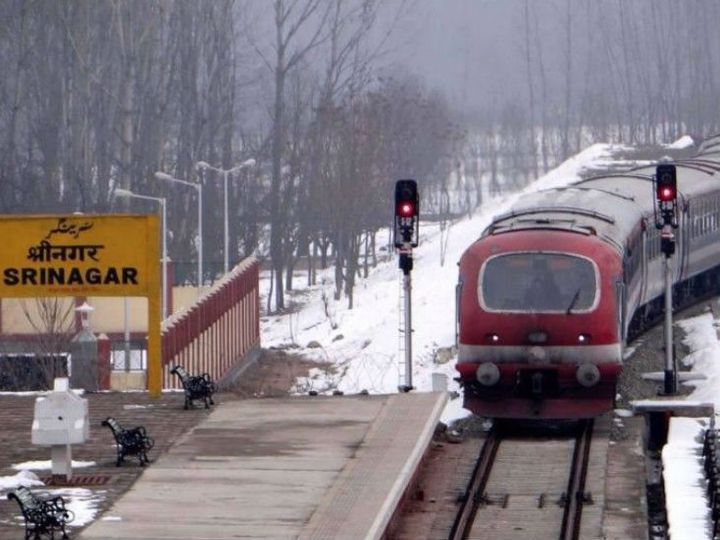 In Kashmir, train service has to be stopped due to encounters and demonstrations. The department also suffers from this.
