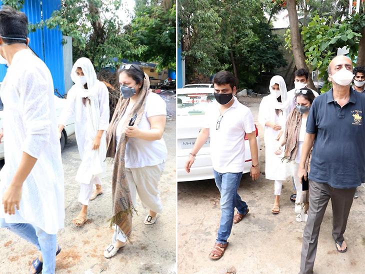 उस दिन रिया अपने दोस्तों के साथ सुशांत के अंतिम दर्शन के लिए पहुंची थीं।