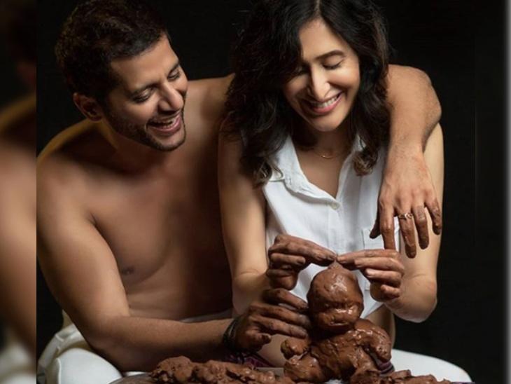 जुड़वा बच्चियों के बाद फिर पिता बनने वाले हैं करणवीर बोहरा, वाइफ टीजे ने दिया जन्मदिन पर खास तौहफा टीवी,TV - Dainik Bhaskar