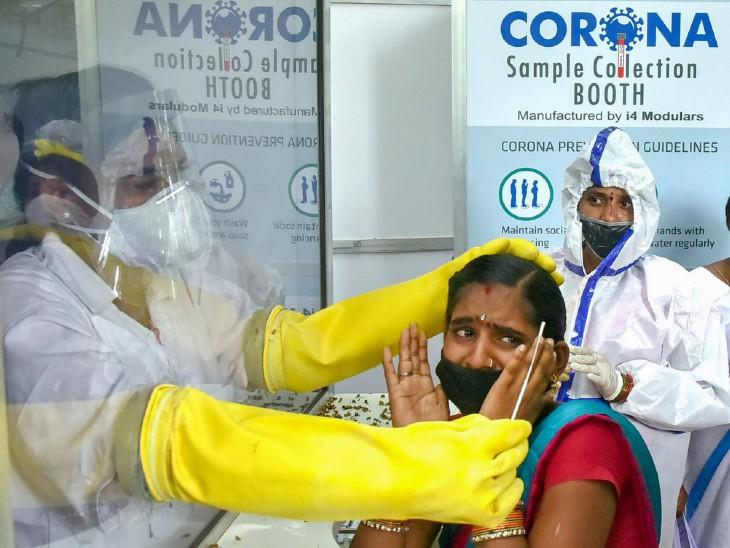 लगातार दूसरे दिन 76 हजार से ज्यादा नए मरीज, 64 हजार लोग ठीक हुए, 1018 संक्रमितों ने दम तोड़ा; अब तक 34.61 लाख मामले|देश,National - Dainik Bhaskar