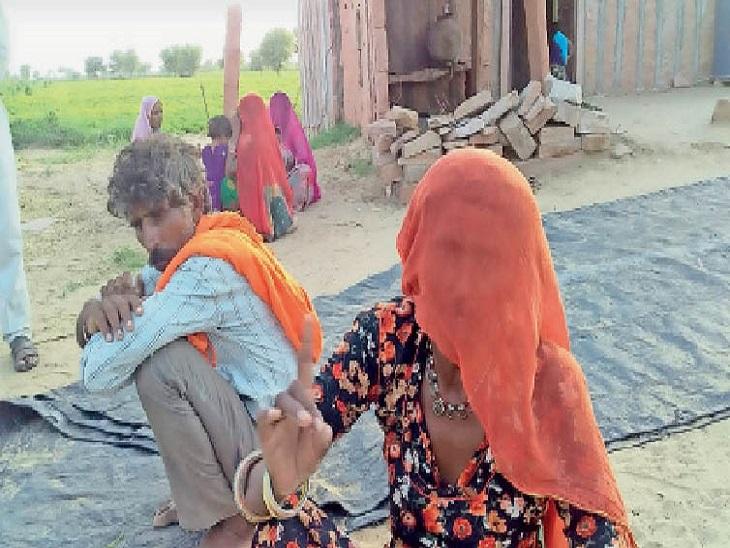 इस दर्दनाक घटना में अपने बच्चों को खोने वाली मां और परिवार की बेटी मल्कादेवी इंसाफ मांग रही हैं। - Dainik Bhaskar