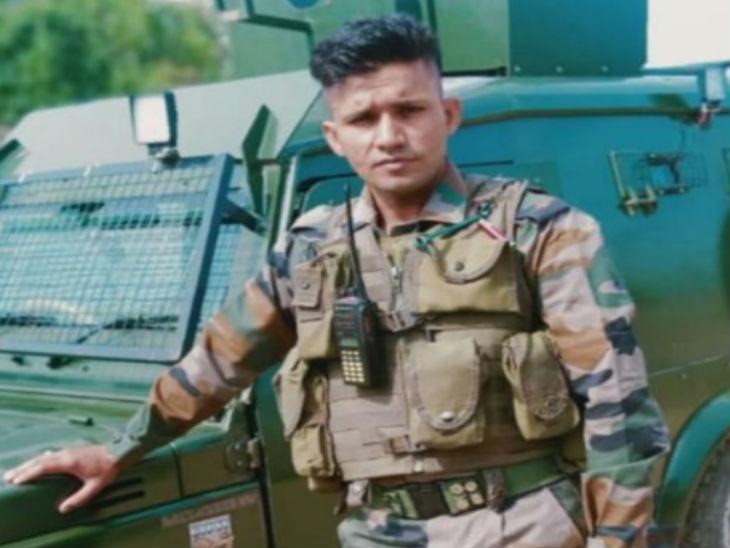 शहीद प्रशांत शर्मा- फाइल फोटो - Dainik Bhaskar