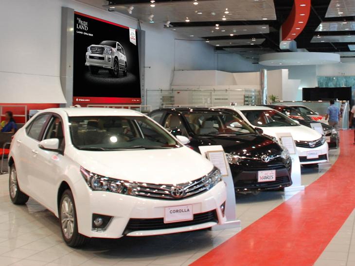 कंपनी ने बीते महीने कुल 5,555 यूनिट बेचीं।
