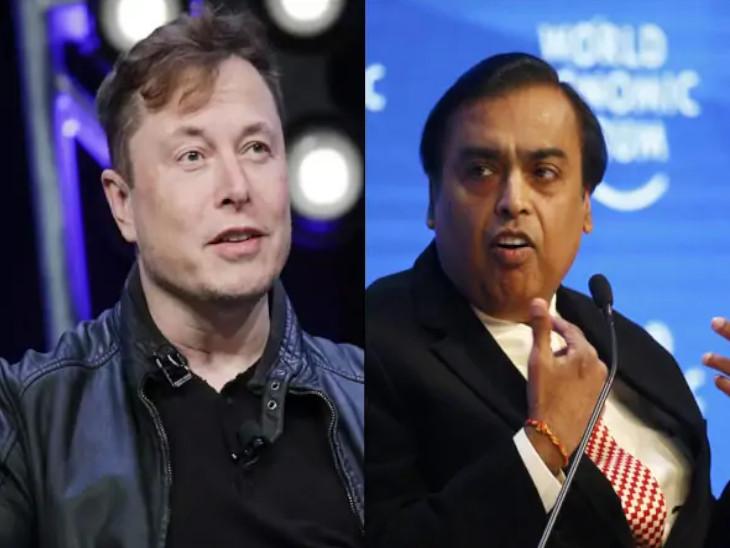 दुनिया के तीसरे सबसे अमीर व्यक्ति बने टेस्ला के को-फाउंडर एलन मस्क, मुकेश अंबानी फिसलकर आठवें स्थान पर पहुंचे|बिजनेस,Business - Dainik Bhaskar