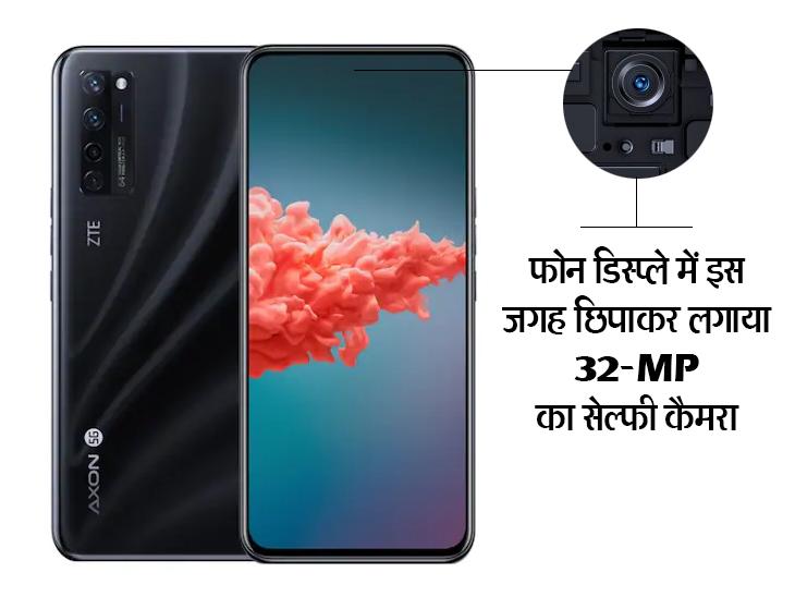 दुनिया का पहला अंडर-डिस्प्ले कैमरा वाला फोन लॉन्च, 2000GB से भी ज्यादा स्टोरेज बढ़ा पाएंगे; जानिए कैसे हैं फीचर्स और कीमत|टेक & ऑटो,Tech & Auto - Dainik Bhaskar