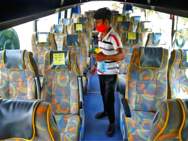 एयरकंडीशन बस में कोरोना का एक मरीज 23 लोगों को संक्रमित कर सकता है, वायरस बंद जगहों में तेजी से फैल सकता है|लाइफ & साइंस,Happy Life - Dainik Bhaskar