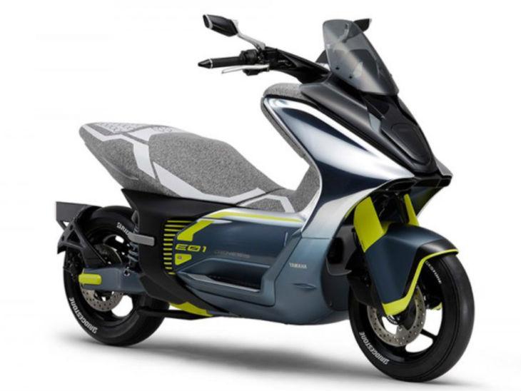 Yamaha e-scooter concept design