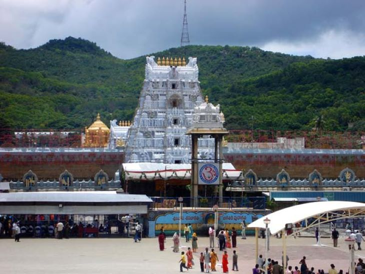 Tirupati Balaji Temple is considered to be one of the richest temples in India. The temple currently has a cash deposit of 1400 crores and about 8 tonnes of gold.