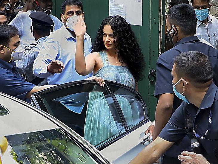 Kangana Ranaut Vs Shiv Sena Uddhav Thackeray | Latest & Breaking News On Kangana Ranaut; Police Complaint Filed Against Bollywood Actress Kangana | एक्ट्रेस बोलीं- जिस बिल्डिंग में रहती हूं, वो शरद पवार से ताल्लुक रखती है; एनसीपी चीफ ने कहा- मेरी भी इच्छा है कि कोई मेरे नाम इमारत लिख दे