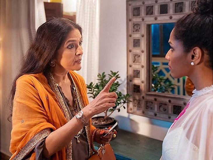 नीना गुप्ता बोलीं- 'बधाई हो' ने मेरी जिंदगी बदल दी, अब मसाबा की मां बनने की उम्र है मैं बच्चे कहां से पैदा करूं|बॉलीवुड,Bollywood - Dainik Bhaskar