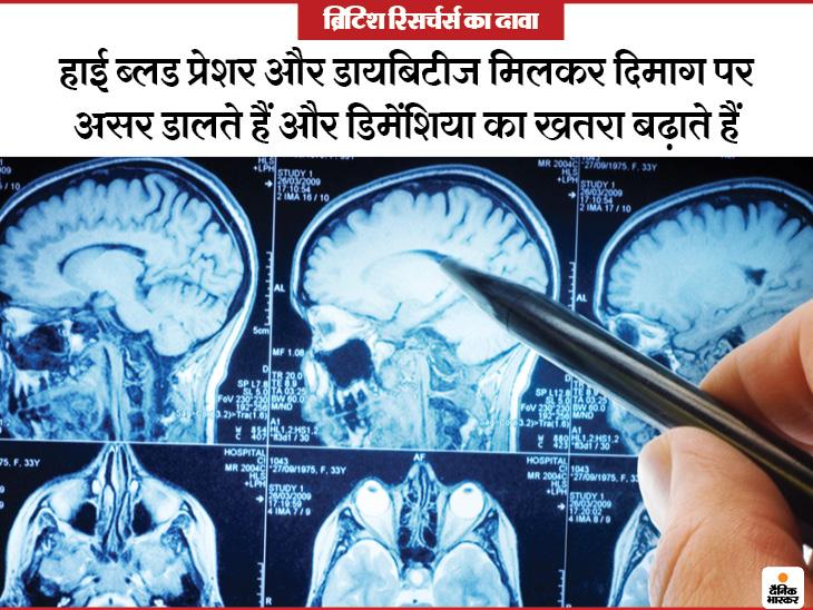 डायबिटीज और ब्लड प्रेशर दिमाग की संरचना बदल रहे; नतीजा यह कि लोगों की सोचने की क्षमता और याददाश्त घट रही|लाइफ & साइंस,Happy Life - Dainik Bhaskar