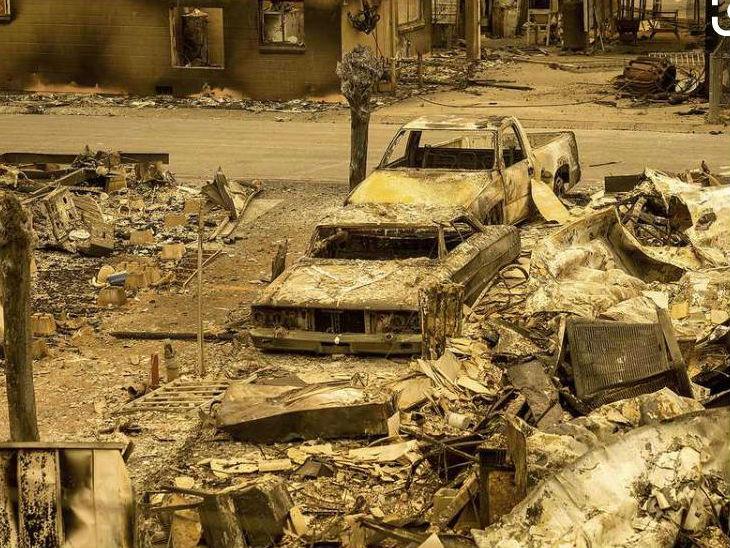 कैलिफोर्निया की कुछ काउंटी आग की चपेट में आ गई है।