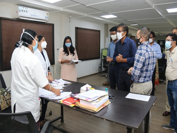 The officials emphasized on how to deal with the situation when the patients grow more.