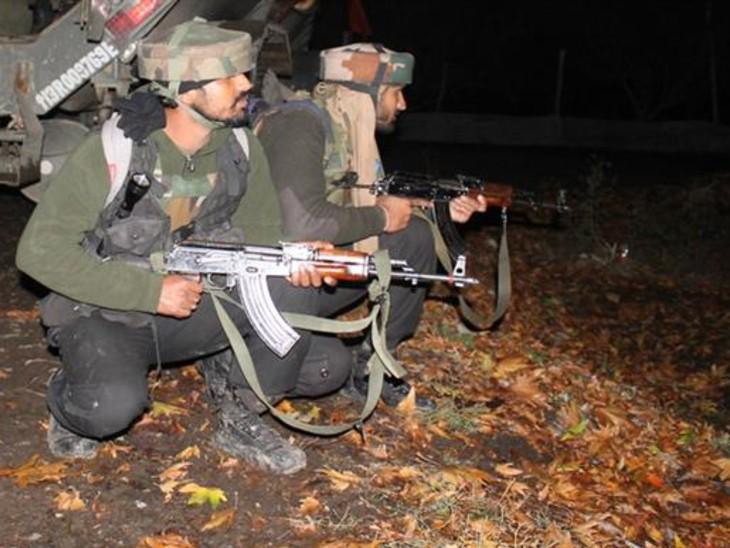 पुलवामा में सुरक्षाबलों पर आतंकी हमला, इलाके को घेरकर सर्च ऑपरेशन जारी|देश,National - Dainik Bhaskar