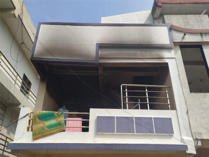 मगदल्ला गांव का मकान, जहां वरिंदा किराए से रहती थी।
