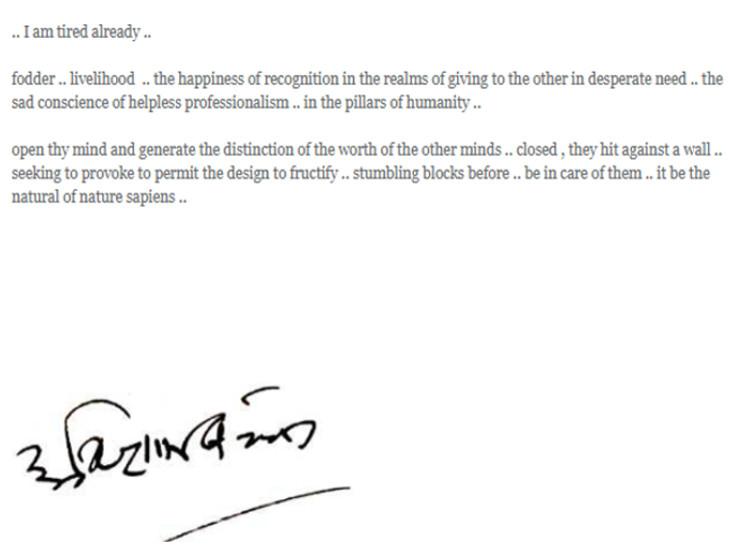 अमिताभ बच्चन के ब्लॉग का दूसरा हिस्सा।